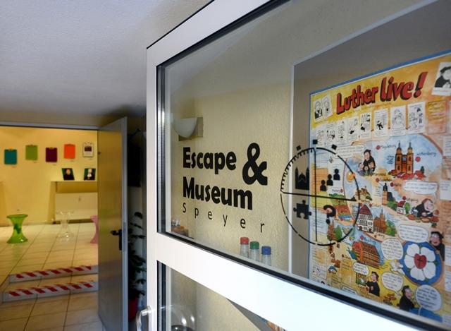 Escape Room Speyer Eingangsbereich